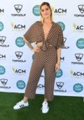 Cassadee Pope attends TopGolf for the 2019 ACM Party for a cause at ACM Lifting Lives Topgolf Tee-off in Las Vegas, Nevada