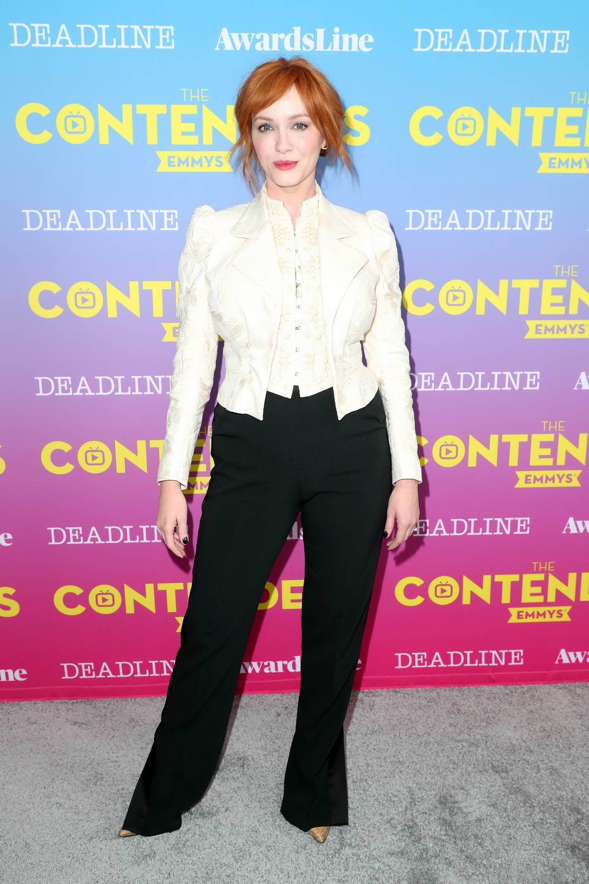 Christina Hendricks attends Deadline Contenders Emmy Event at Paramount Theatre in Los Angeles