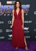 Cobie Smulders attends the World Premiere of 'Avengers: Endgame' at the LA Convention Center in Los Angeles