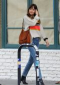 Dakota Johnson grabs dinner with Blake Lee at Odys + Penelope in Los Angeles