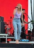 Danielle Bradbery Performs onstage during Day 3 of the Stagecoach Music Festival in Indio, California