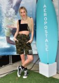 Delilah Hamlin attends Day 2 of the #AeroBeachHouse by Aeropostale in Malibu, California