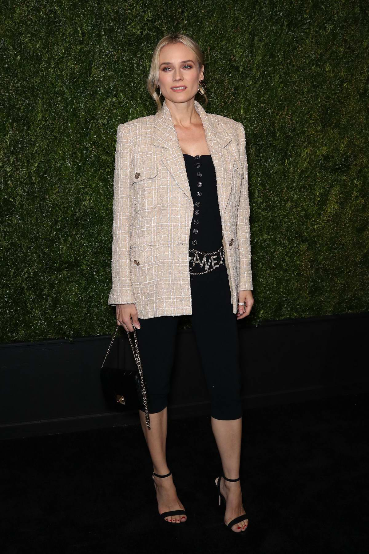 Diane Kruger attends the 14th Annual Tribeca Film Festival Artists Dinner hosted by Chanel in New York City