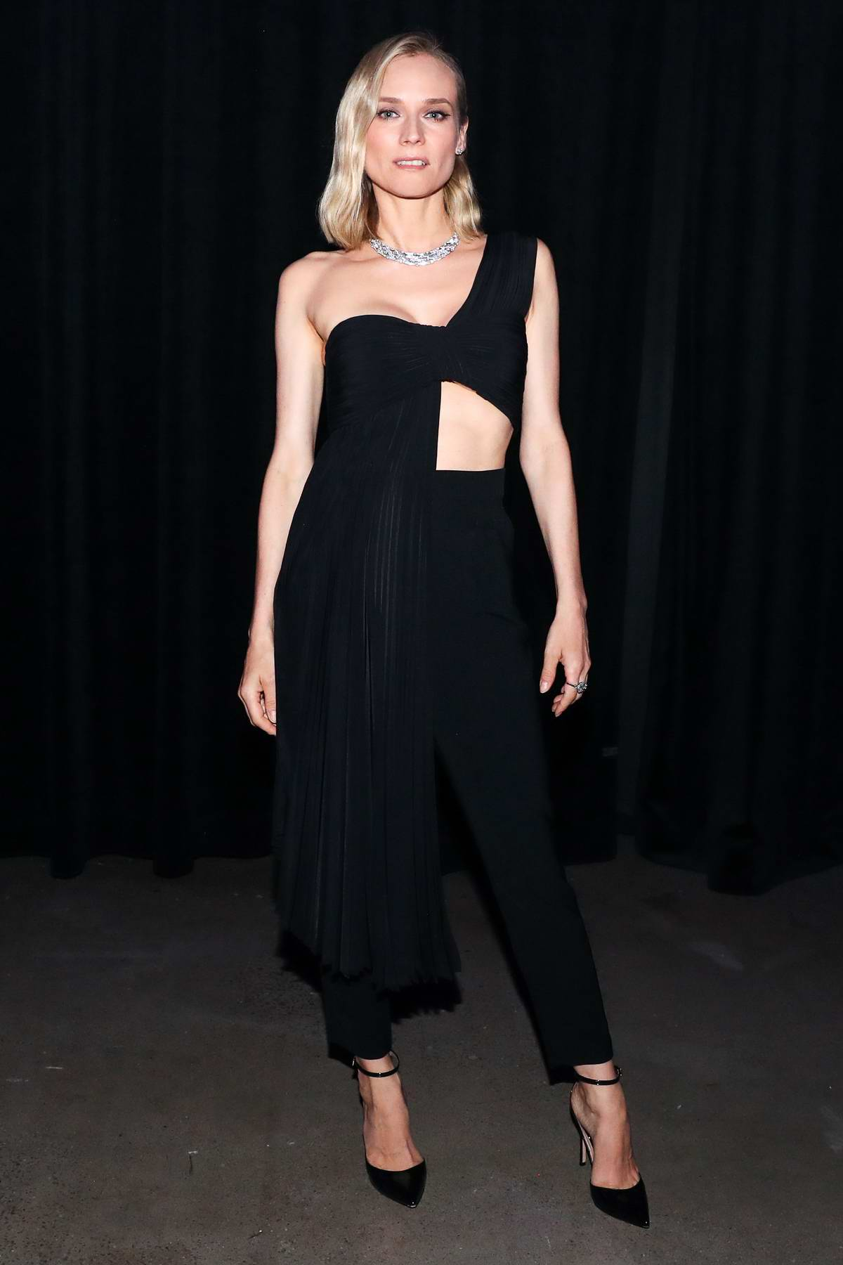 Diane Kruger attends the Bvlgari World Premiere of 'Celestial and The Fourth Wave' in New York City