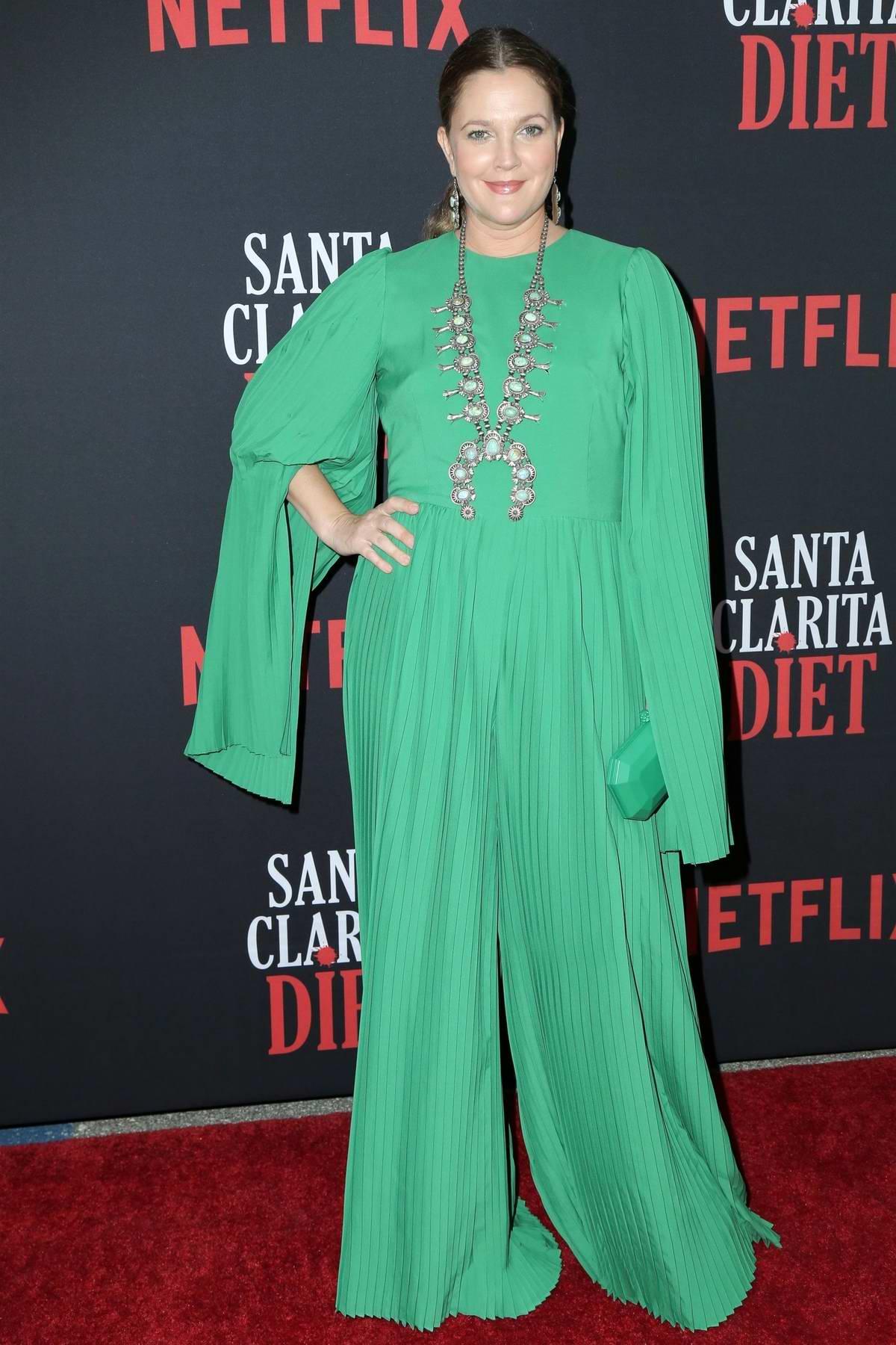 Drew Barrymore attends Netflix' 'Santa Clarita Diet' Season 3 TV Show Premiere in Los Angeles