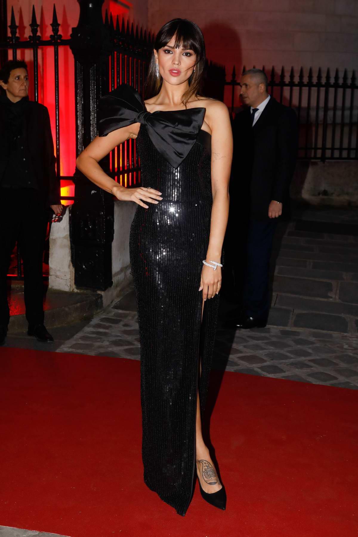 Eiza Gonzalez attends Clash De Cartier Photocall at La Conciergerie in Paris, France