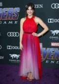 Elizabeth Henstridge attends the World Premiere of 'Avengers: Endgame' at the LA Convention Center in Los Angeles