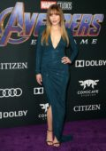 Elizabeth Olsen attends the World Premiere of 'Avengers: Endgame' at the LA Convention Center in Los Angeles