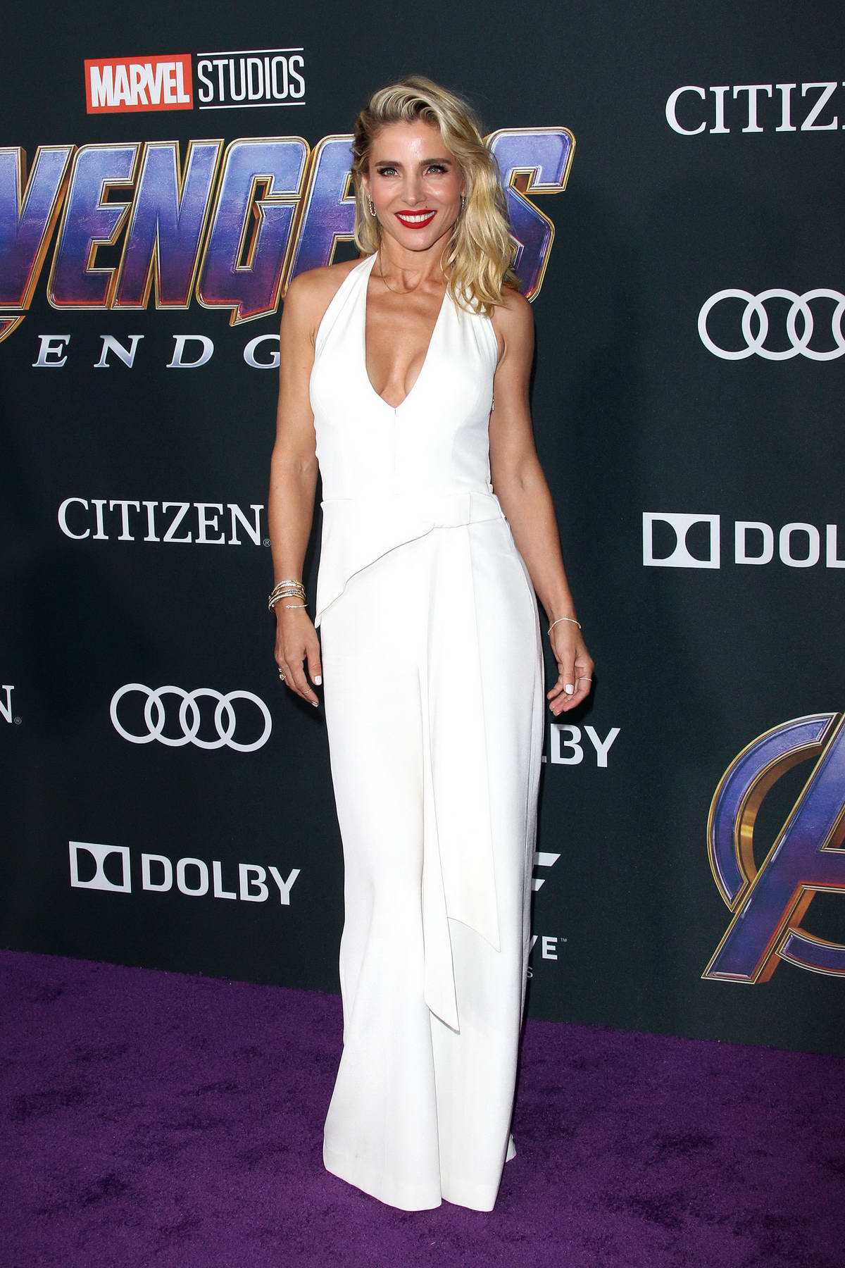 Elsa Pataky attends the World Premiere of 'Avengers: Endgame' at the LA Convention Center in Los Angeles