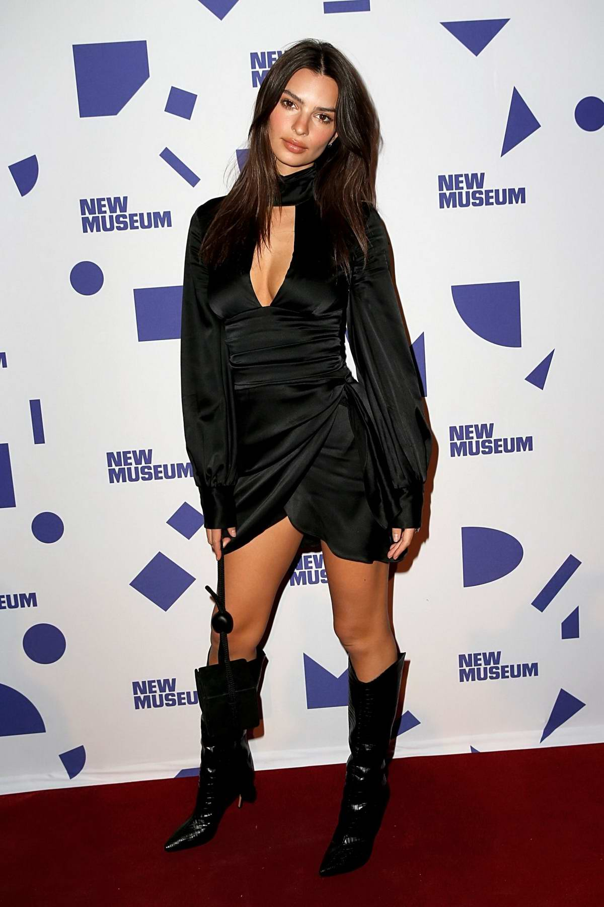 Emily Ratajkowski attends the New Museum 2019 Spring Gala at Cipriani Wall Street in New York City