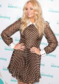 Emma Bunton makes an appearance on 'This Morning' TV Show in London, UK