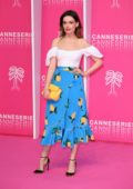 Emma Mackey at the Pink Carpet during the 2nd Canneseries - International Series Festival - Day 4 in Cannes, France