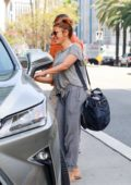 Eva Mendes keeps it casual as she steps out in Los Angeles
