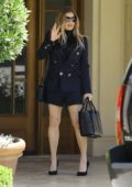 Fergie leaves Easter Sunday church service in Brentwood, Los Angeles