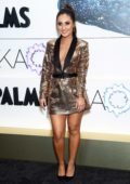 Francia Raisa attends the KAOS Grand Opening at Palms Casino Resort in Las Vegas, Nevada
