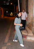 Gal Gadot spotted in a grey jumpsuit while out in Tel Aviv, Israel