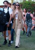 Gigi Hadid enjoying day 3 of Coachella Music Festival in Indio, California