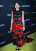 Gina Rodriguez attends 'Someone Great' premiere at ArcLight Cinemas in Los Angeles