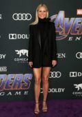 Gwyneth Paltrow attends the World Premiere of 'Avengers: Endgame' at the LA Convention Center in Los Angeles