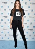 Hailee Steinfeld attends the WE Day California 2019 at the Forum in Inglewood, California