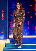 Jenna Coleman makes an appearance on 'The Jonathan Ross Show' in London, UK