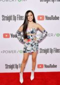Jenna Ortega attends the Power On Premiere By Straight Up Films in Playa Vista, California