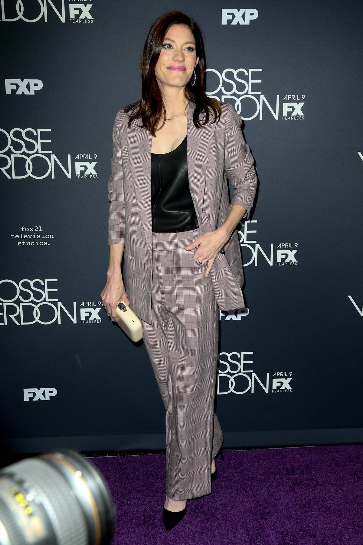 Jennifer Carpenter attends the premiere of the FX Series 'Fosse/Verdon' in New York City