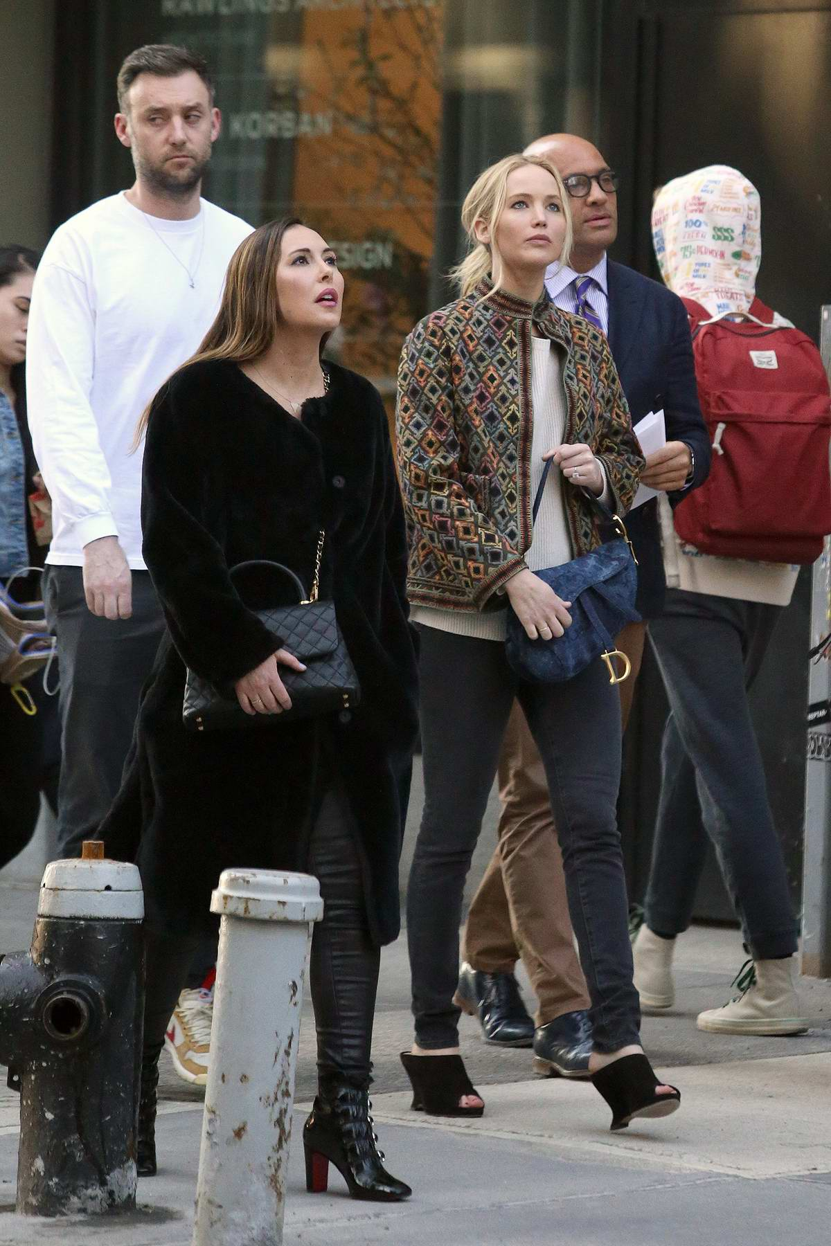 Jennifer Lawrence And Cooke Maroney Are Spotted Apartment