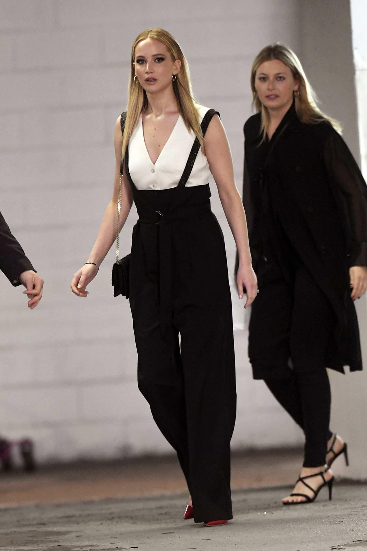 Jennifer Lawrence seen leaving the Tribeca Talks in New York City