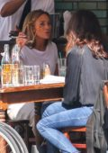 Jennifer Lopez enjoys a lunch date with her sister Linda Lopez in New York City