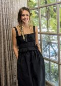 Jessica Alba attends the 'LA's Finest' Press Conference at the Four Seasons Hotel in Beverly Hills, Los Angeles
