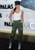 Jessica Szohr attends the KAOS Grand Opening at Palms Casino Resort in Las Vegas, Nevada
