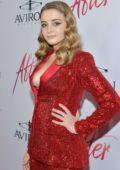 Josephine Langford attends the premiere of Aviron Pictures' 'After' in Los Angeles