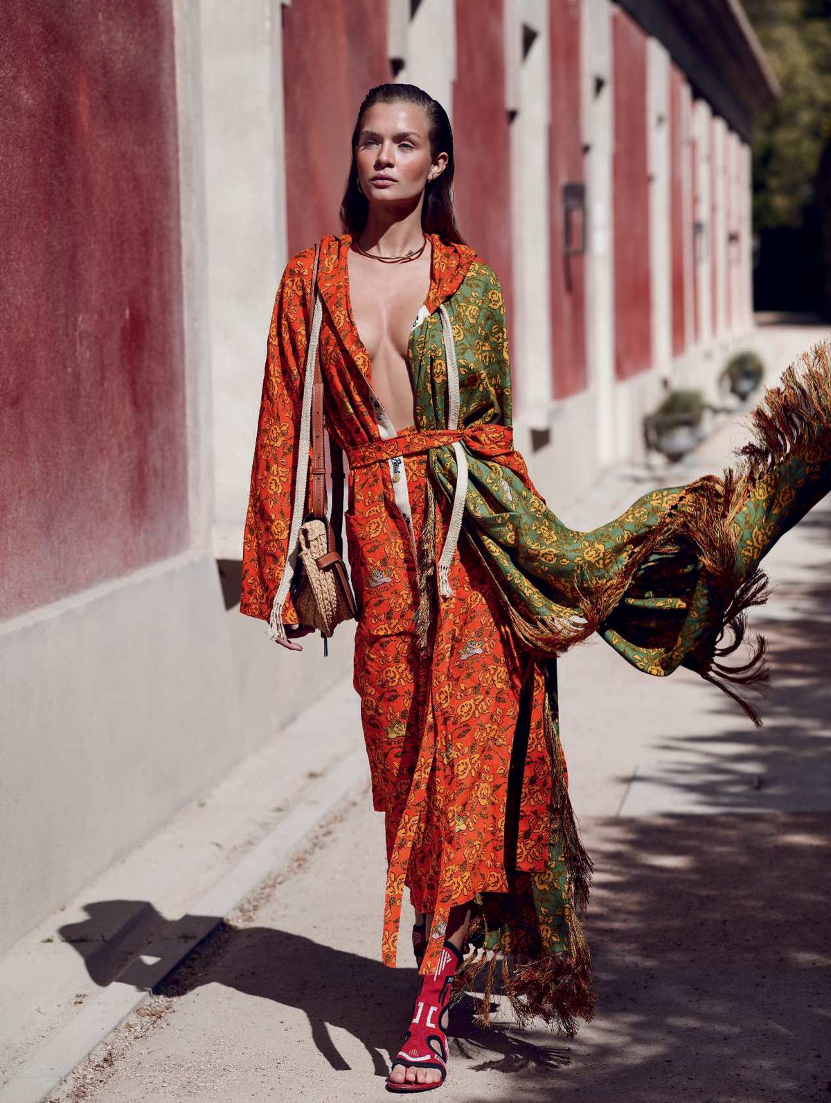 Josephine Skriver features in Marie Claire, Italia - May 2019