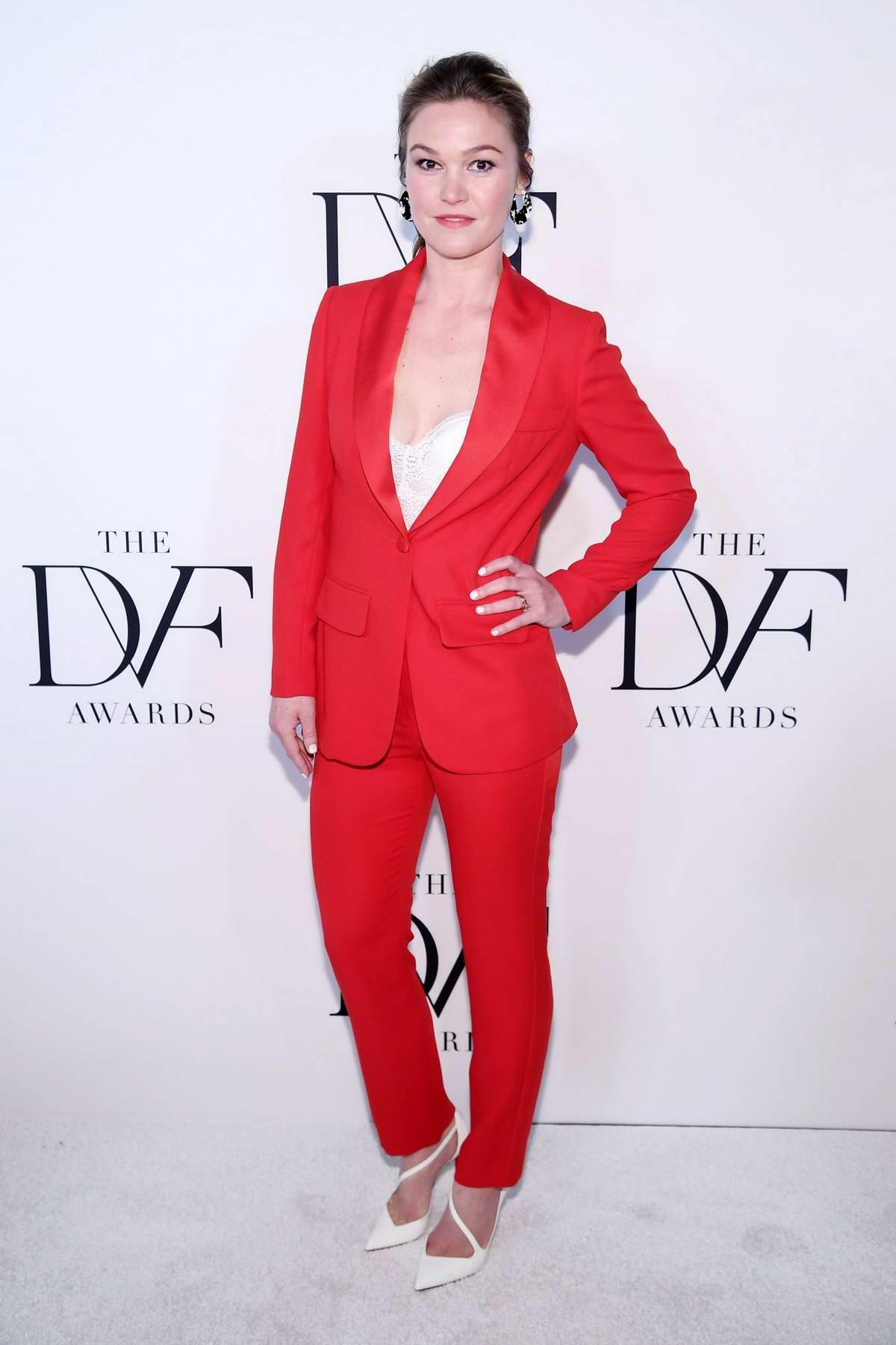 Julia Stiles attends 10th Annual DVF Awards in New York City