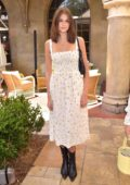 Kaia Gerber joins Talita von Furstenberg in celebrating her first collection for DVF in Hollywood, California