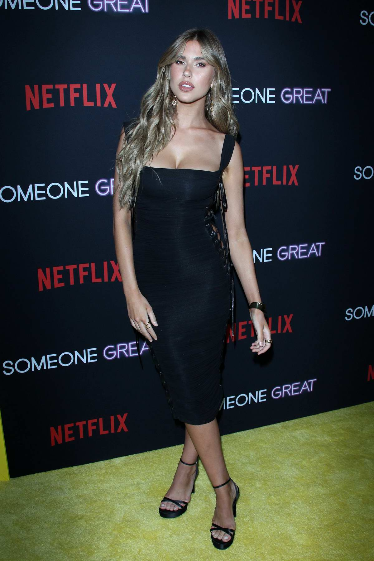 Kara Del Toro attends 'Someone Great' premiere at ArcLight Cinemas in Los Angeles