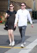 Kate Mara and Jamie Bell enjoy a romantic stroll in Los Angeles
