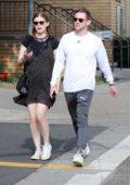 Kate Mara and Jamie Bell enjoy a romantic stroll in Los Angeles