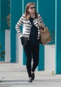 Kate Mara keeps it casual as she strolls around while out for some shopping in Los Angeles