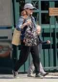 Kate Mara runs her afternoon errands with her stepson in Los Angeles