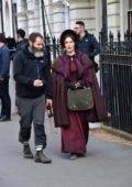 Kate Winslet spotted on set of her latest movie 'Ammonite' in London, UK
