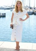 Katheryn Winnick attends the 2nd Cannesseries at the Palais Des Festivals - Day 5 in Cannes, France