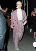 Katy Perry leaves 'Wicked on Broadway' in New York City