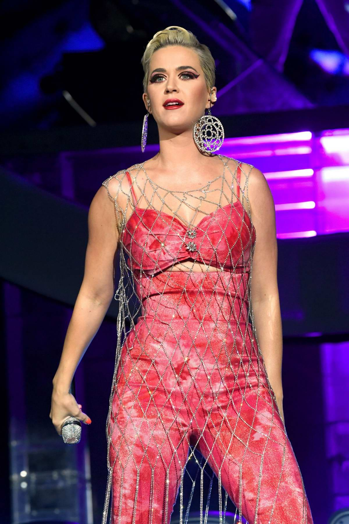Katy Perry performs onstage at 2019 Coachella Valley Music and Arts Festival in Indio, California