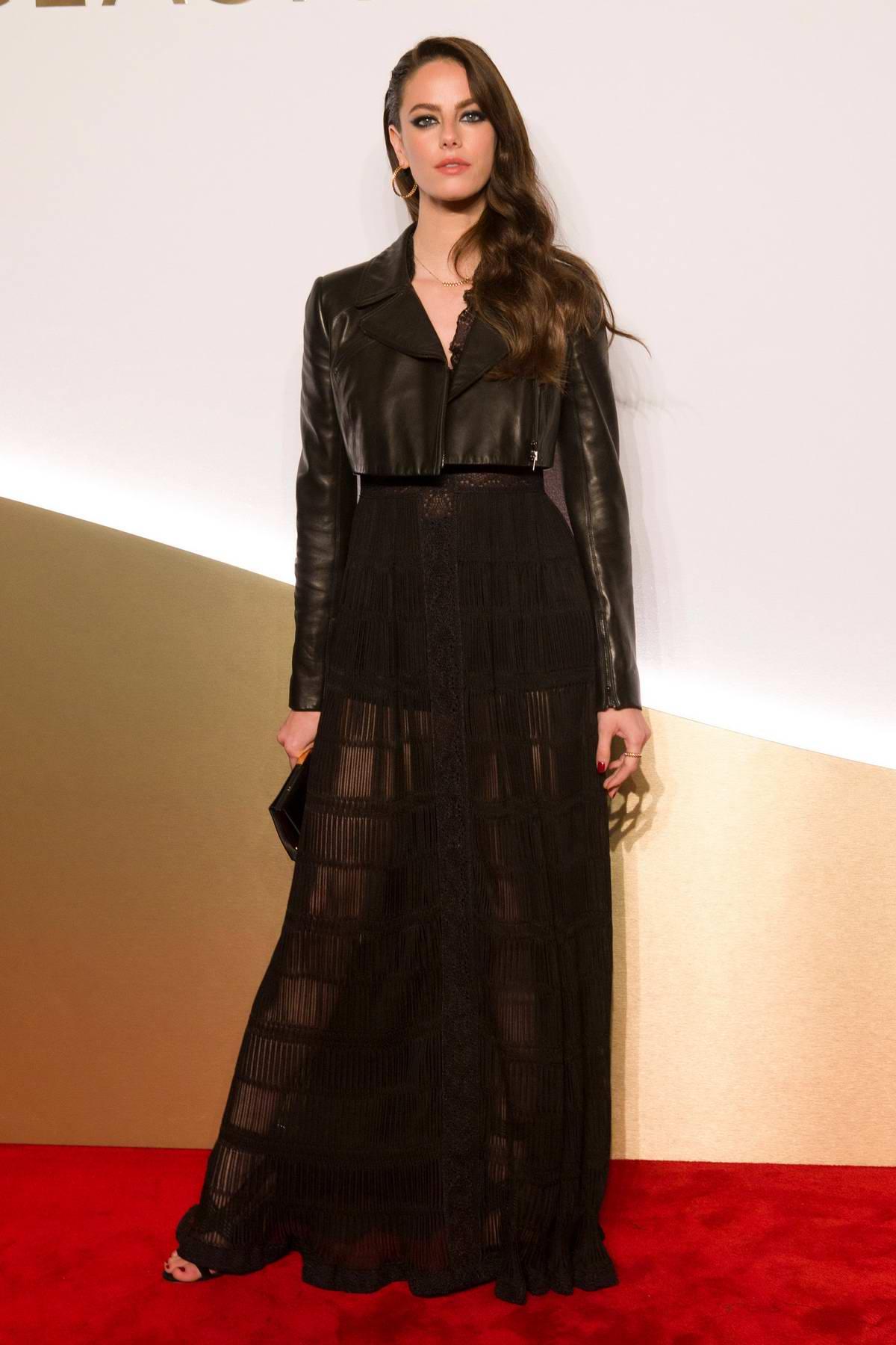 Kaya Scodelario attends Clash De Cartier Photocall at La Conciergerie in Paris, France