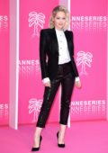Kelli Berglund attends the 2nd Cannesseries at the Palais Des Festivals in Cannes, France