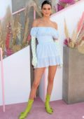 Kendall Jenner attends Revolvefestival 2019 - Day 2 during Coachella Valley Music and Arts Festival in Indio, California