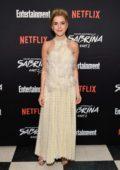 Kiernan Shipka attends a screening of 'Chilling Adventures of Sabrina: Part 2' in New York City