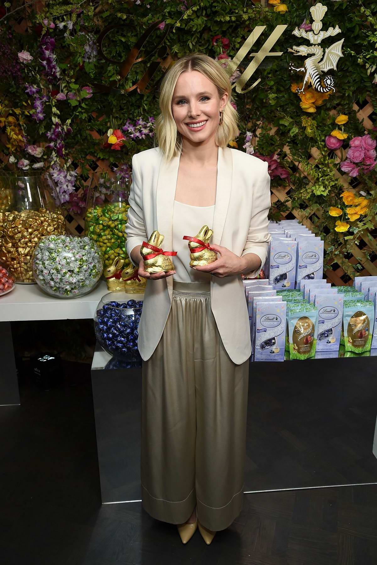 Kristen Bell hosts a Lindt Chocolate Easter Luncheon with Kristen Bell and friends in Los Angeles
